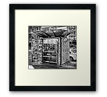 It's hip to be square Framed Print