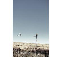 Dustoff downunder - Villenvue, QLD Photographic Print