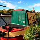 Narrow Boat by Paul Bettison