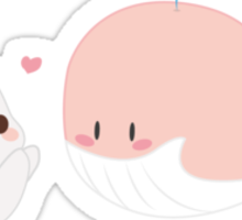 Lovely friends Sticker