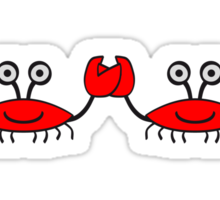 Crabs Sticker