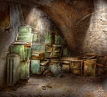 Jail - Eastern State Penitentiary - Cabinet members  by Mike  Savad