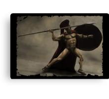 I Am Sparta Canvas Print
