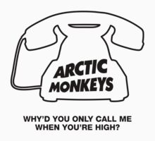 Arctic Monkeys. Why'd You Only Call Me When You're High?  by Whiteland