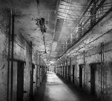 Jail - Eastern State Penitentiary - The forgotten ones  by Mike  Savad
