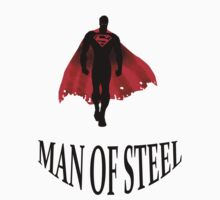 Man of Steel T-Shirts & Hoodies by meganfart
