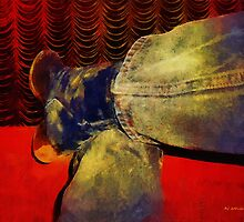 Awaiting the Curtain by RC deWinter