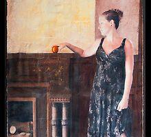 Forbidden Fruit Panel 4 by Rene Hales