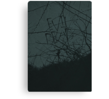 Evil Dead minimalist movie poster Canvas Print