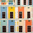 Bright Multicolored Building by printscapes