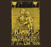The Flaming Lips Gig Flyer Tee by Jarrod Knight