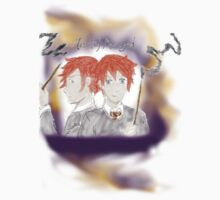 Weasley Twins  by toriAlin