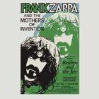Frank Zappa Gig Poster Tee by Jarrod Knight