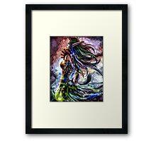 Majestic Elf Framed Print