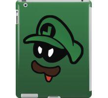 Mr. L  (Evil Luigi) iPad Case/Skin