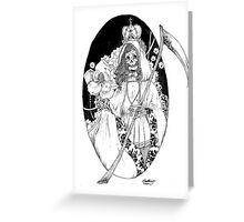 Bella Muerte Greeting Card