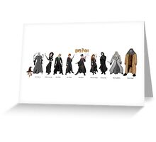 Harry Potter Project Greeting Card