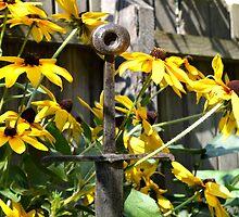 Sword Among Flowers by ivDAnu