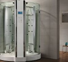 Steam Shower Waterville by aquapeutics