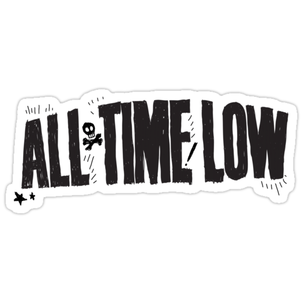 All Time Low (BLACK LOGO) by Mikayla DeBerry