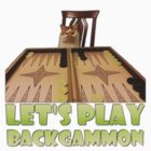 Let's Play Backgammon by yektaersoy