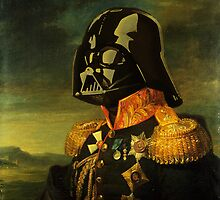 Portrait of Lord Vader by KAMonkey