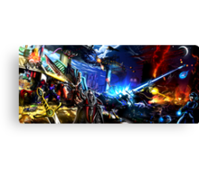 Capcom vs Konami Canvas Print