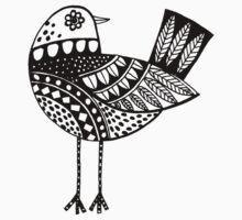 Cutout Bird Kids Clothes