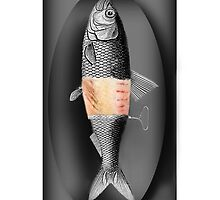 <º))))>< FISH WITH A TWIST IPHONE CASE<º))))><  by ╰⊰✿ℒᵒᶹᵉ Bonita✿⊱╮ Lalonde✿⊱╮