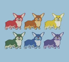 Corgi Skittles by CaptainSunshine