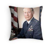 Buzz Aldrin Throw Pillow
