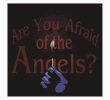 Are You Afraid of the Angels? sticker by moysche