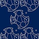 Gallifreyan Omnishambles (White Print) by phantomssiren