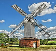 Stanton Windmill,Mill Farm,Suffolk by dellray