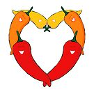Love chillies by puppaluppa