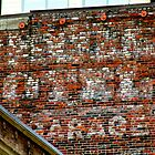 Seattle Ghost Sign by Sue Morgan