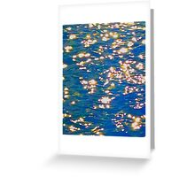 Sparkling Water 2 Greeting Card