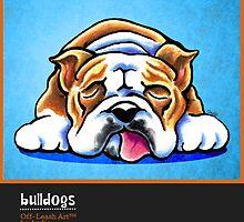 English Bulldogs Off-Leash Art™ Vol 1 by offleashart