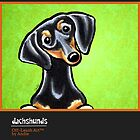 Dachshunds Calendar Cover by offleashart