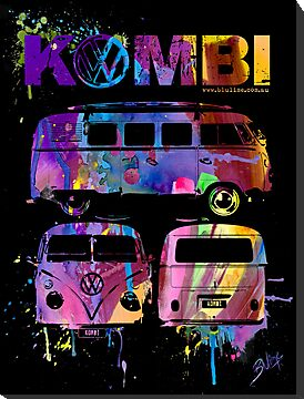Volkswagen Kombi - 3 way by blulime