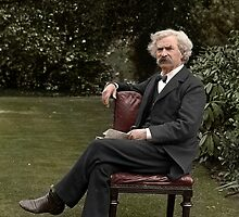 Mark Twain by Mads Madsen