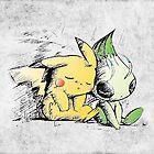 Pokemon 4ever: Pikachu & Celebi by KAMonkey