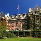 Empress Hotel, Victoria, BC by Charles Kosina