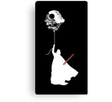 Darth Vader - Death Star Balloon Canvas Print