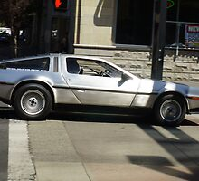 DeLorean - Reno, NV by Jon Unsell