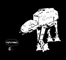 R2D2 - RUN! AT-AT Version by KAMonkey