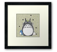 Will you be my neighbor Totoro? Framed Print