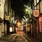 The Shambles, York by Sandra Cockayne
