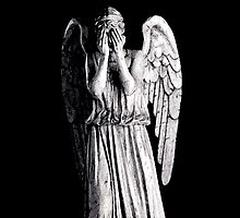 Weeping Angel - Don't Blink iPad Case by MyArtefacts