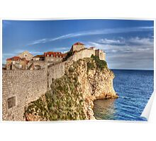 Old Town Wall, Dubrovnik Poster